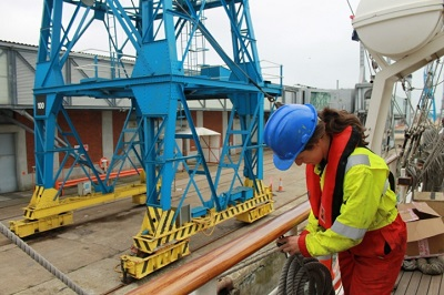 Commercial and industrial workwear for working on or near the water