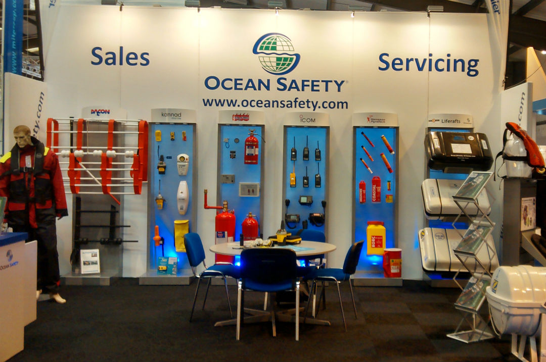 Ocean Safety Exhibiton Stand