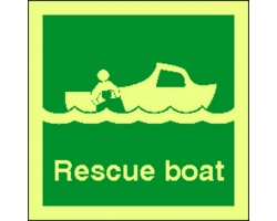 4101jj rescue boat sign