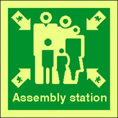 4119jj assembly station sign