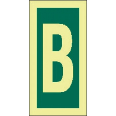 4211jf letter b sign